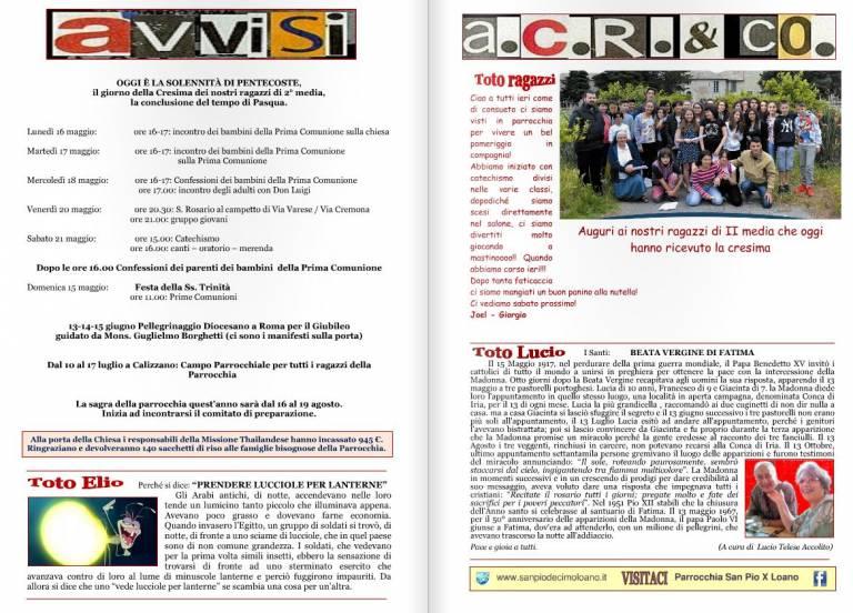 La rivista Toto, fatta dai giovani su carta e poi messa sul web dal webmaster Franco Mantegazza